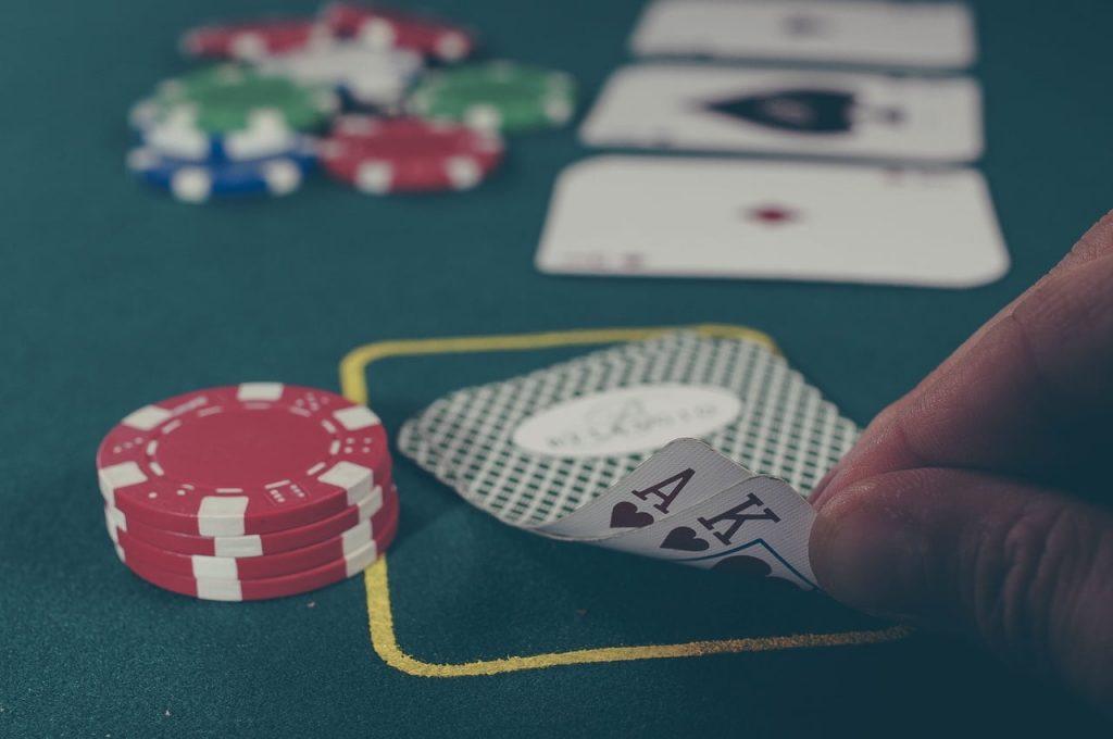 apostas e poker