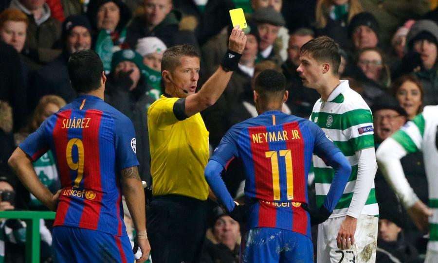 neymar cartão barcelona