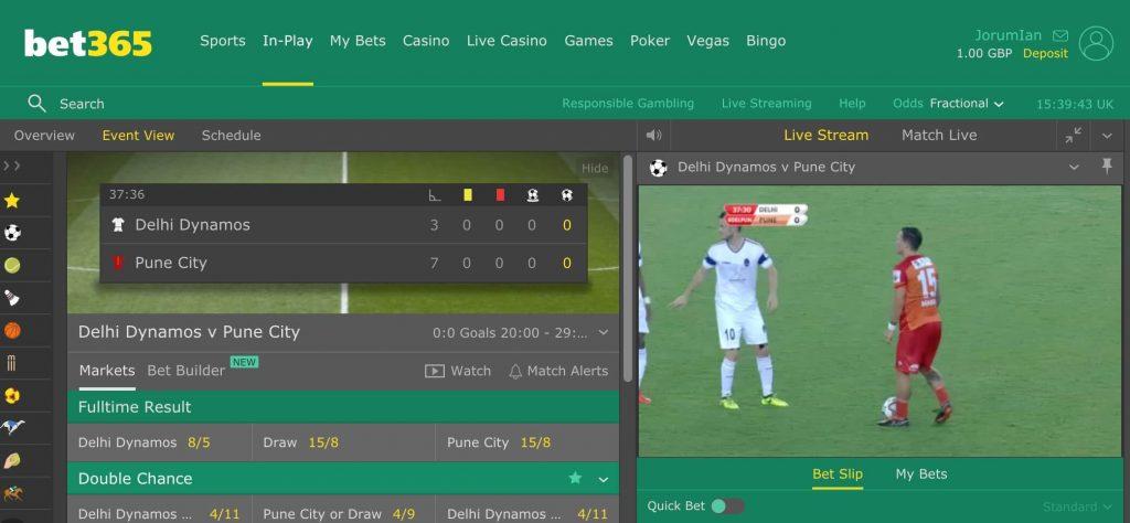 bet365 ao vivo live futebol
