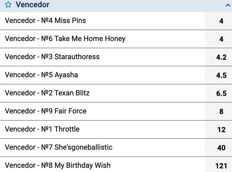 odds fixas apostas em cavalos