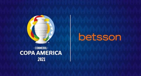 betsson patrocinadora da copa america 2021