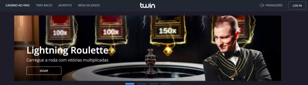 cassinos ao vivo twin