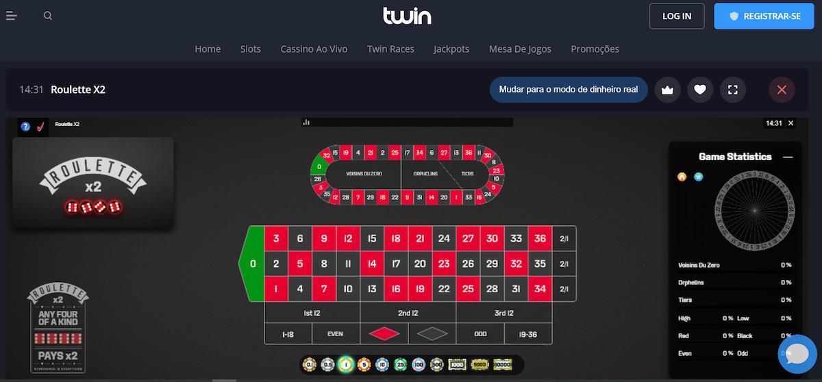 twin casino jogo demonstrativo
