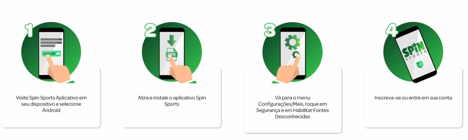 como baixar o aplicativo spin sports