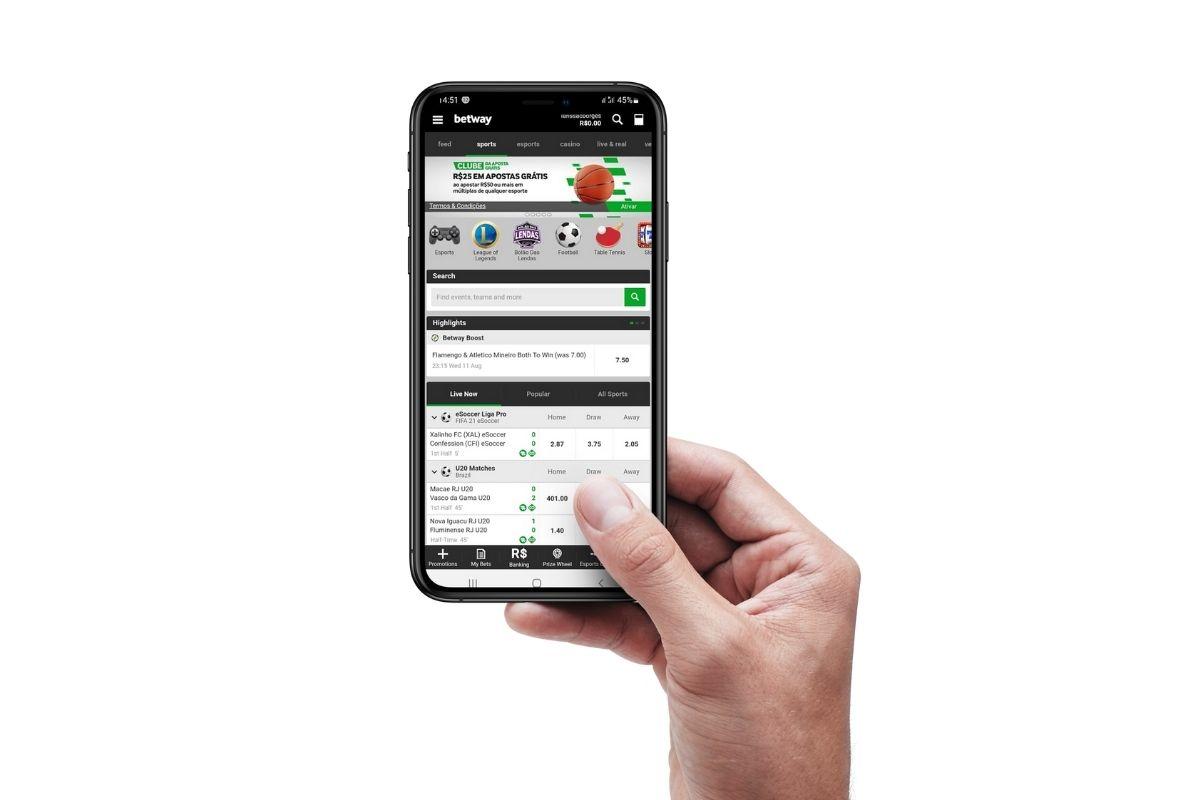 Betway App – Como Baixar Betway App para Celular?